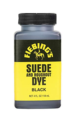 4 Oz. Suede Dye Black By Fiebing