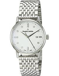 Women's 'Eliros' Swiss Quartz Stainless Steel Casual Watch, Color:Silver-Toned (Model: EL1094-SS002-150-1)