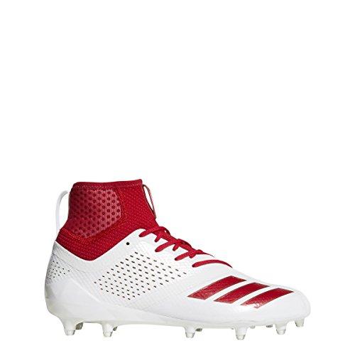 Adidas Adizero 5star 7,0 Midten Klampe Mænds Fodbold Hvid-rød