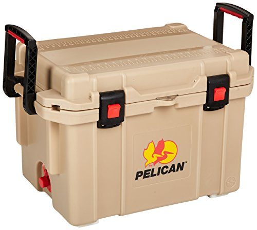 Pelican 45 Quart 45Q-OC Tan Elite Cooler