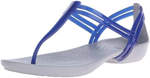 crocs Women's Isabella T Strap Jelly Sandal