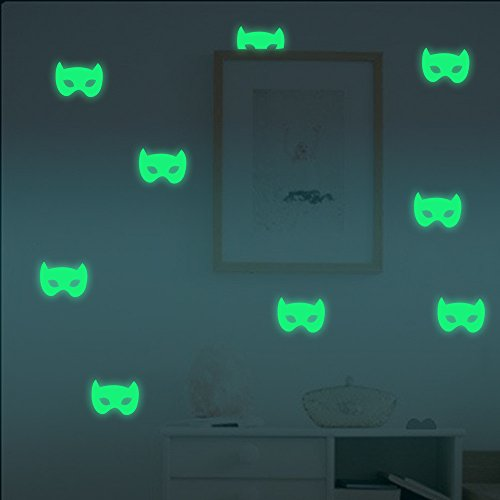 Luminous Stickers Happy Halloween Home Household Room Wall Sticker Mural Decor Decal Removable New Artwork murals -