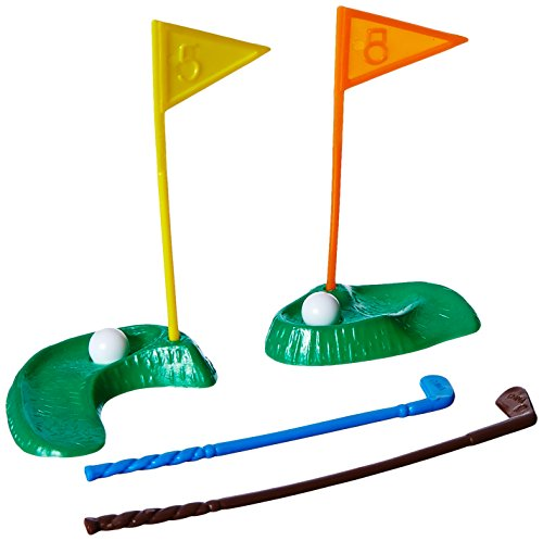 Oasis Supply 6-Piece Golf Green with Clubs and