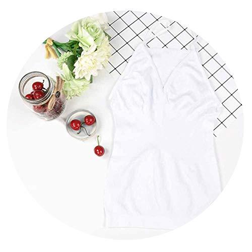 - HANBINGPO Women Bra Cami Tank Top Body Shapercorrective Underwear Slimming Vest Corset Shapewear Seamless,1,L