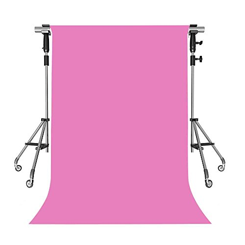 MEETS 5x7ft Non-woven Fabric Backdrop Millennium Pink Photography Background Studio Props Photo Booth YouTube Backdrop QHWMT001