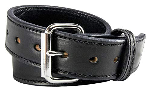 - Relentless Tactical The Ultimate Concealed Carry CCW Leather Gun Belt - 14 Ounce 1 1/2 Inch Premium Full Grain Leather Belt - Handmade in The USA! Black Size 32