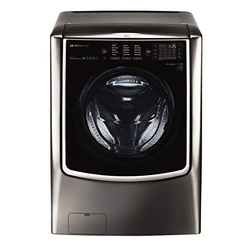 LG WM9500HKA Signature 5.8 cu. ft. Mega Capacity Washer in Black...