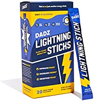 DADZ Maca Powder & Nootropic Brain Supplement - Focus & Energy Drink Mix - Lightning Sticks Brain Boos