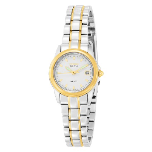 Citizen Women's EW1624-56A Eco Drive Two-Tone Watch