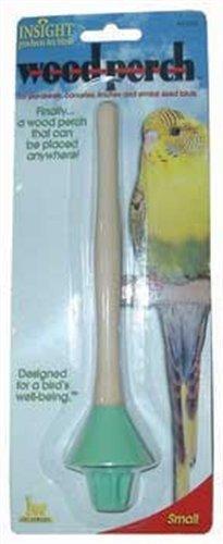 (JW Pet Company Insight Wood Perch Bird Accessory, Small by JW Pet)