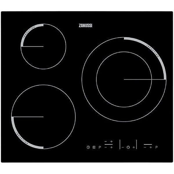 Zanussi - Placa de inducción ZEI6632FBA con 3 zonas Power ...