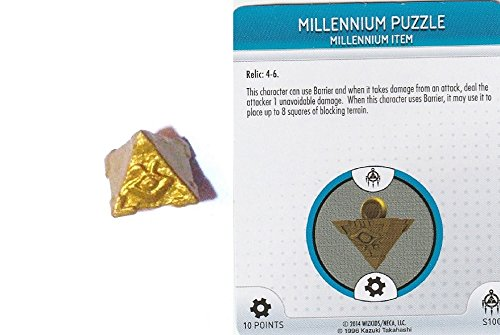 Yu-Gi-Oh! Heroclix Battle of the Millennium Month 1 Op Kit #S100 Millenium Puzzle 3-D Object Complete with Card
