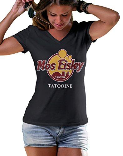 LeRage Shirts Star Wars Mos Eisley Cantina Tatooine T-Shirt Women's Black X-Large]()