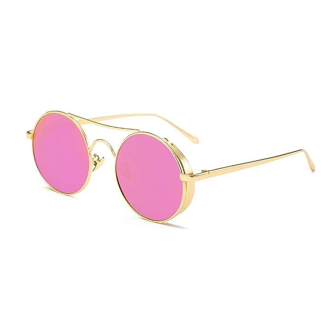 AMZTM Espejo Gafas de Sol Retro Polarizadas para Mujer y Hombre ... 21be9fd8dcb6
