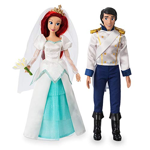 Disney Ariel and Eric Classic Wedding Doll Set - The Little Mermaid No Color