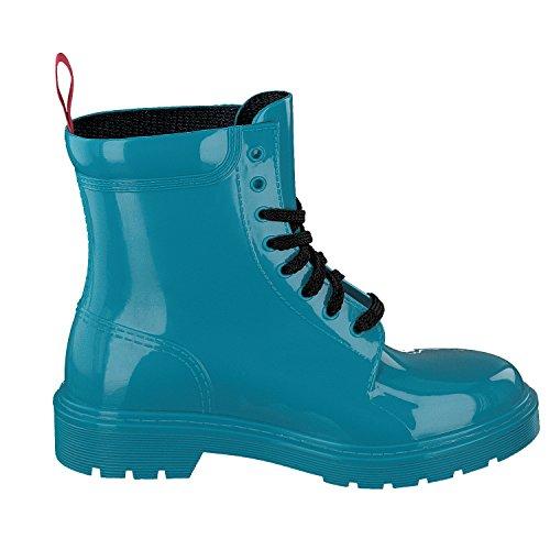Gosch Schoenen Damesschoenen Laarzen Rubberen Laarzen 7105-300 Kleuren In Turquoise 3
