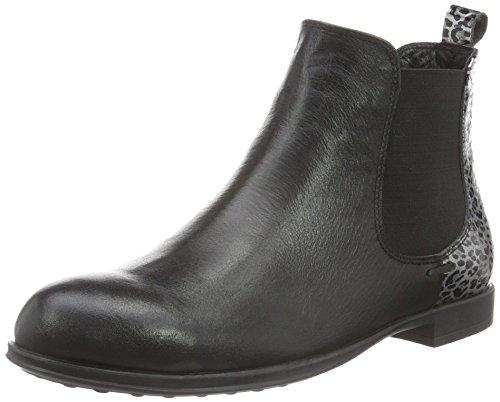 Andrea Conti 0022709, Zapatillas de Estar por Casa para Mujer Negro