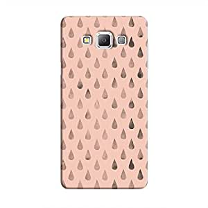 Cover It Up - Raindrops Pink Galaxy A7 Hard Case