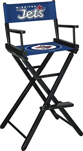Imperial Officially Licensed NHL Merchandise: Directors Chair (Tall, Bar Height), Winnipeg Jets (Contemporary Furniture Winnipeg)