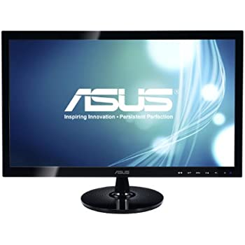 "ASUS VS248H-P 24"" Full HD 1920x1080 2ms HDMI DVI VGA Back-lit LED Monitor"