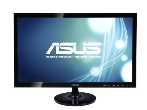 ASUS VS248H-P 24' Full HD 1920x1080 2ms HDMI DVI VGA Back-lit LED Monitor