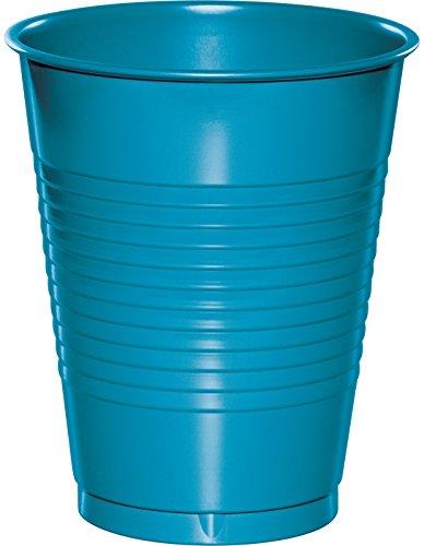 Creative Converting 28313181 Plastic Turquoise