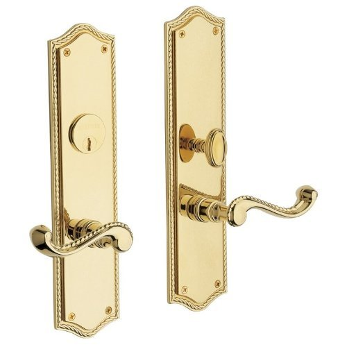 Baldwin Hardware 6939.003.ENTR Bristol Lever Entrance Front - Baldwin Entrance