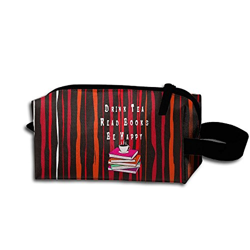 Drink Tea Read Books Be Happy Miss Zipper Makeup - Dfo Kids