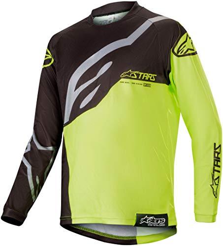 Racer Noir Enfant Alpinestars Motocross Fluorescent Jaune 2019 Maillot Factory wqw6ISA