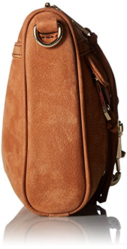 Rebecca Minkoff BORSA mini mac nabuck with guitar COLORE MANDORLA