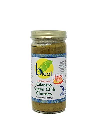 Bleaf All Natural Cilantro Green Chili Chutney