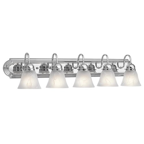 Kichler 5339CH Five Light Bath - Chrome 5 Light Vanity