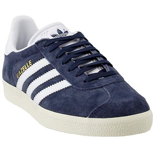 adidas Gazelle Womens in Blue/White, 6.5