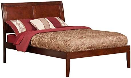 Leo Lacey Full Sleigh Platform Bed