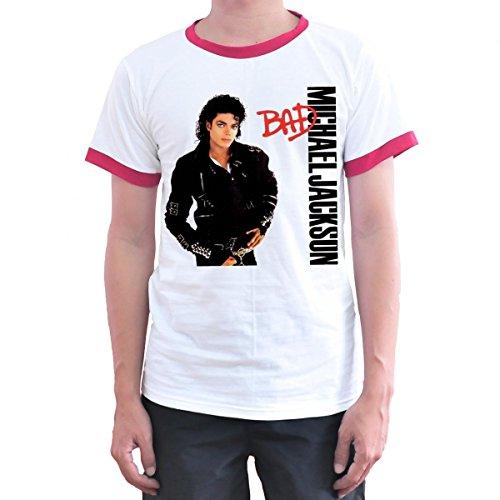Toyz T shirt Store Michael Jackson T Shirt Medium White (Jackson Youth T-shirt)