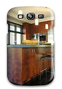 New Arrival Case Specially Design For Galaxy S3 (neutral Contemporary Kitchen With Pendant Lights Amp Large Island)