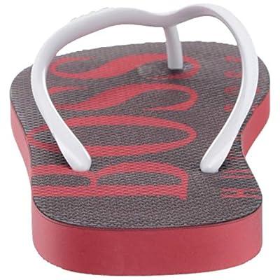Hugo Boss Men's Wave Thong Rubber Sandal Flip-Flop: Shoes