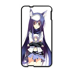 Kanade Tachibana Angel Beats Anime HTC One M7 Cell Phone Case Black TPU Phone Case SY_744195