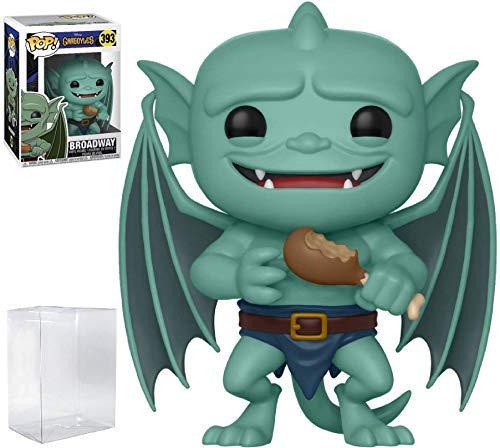 Funko Pop! Disney: Gargoyles - Broadway Vinyl Figure (Bundled with Pop Box Protector Case)