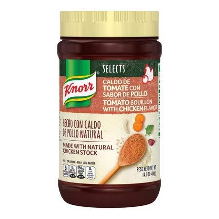 Knorr Tomato Bouillon With Chicken Flavor NO MSG - 14.1 Ounces (Chicken Tomato)