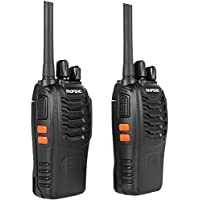 Walkie Talkie Baofeng BF-88E for Singapore (License Free, IMDA Approved) - 6 Months Warranty (2 Pcs)