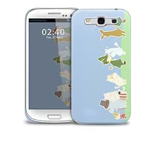 cute moomin Samsung Galaxy S3 GS3 protective phone case