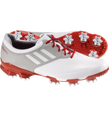 BRAND NEW Adidas Golf Adizero Tour Men's Golf Shoes - 11.5 Medium White/Grey/Red