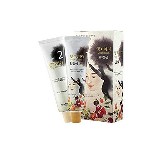 Daeng Gi Meo Ri Hair Color Medium Brown (3 PACK)
