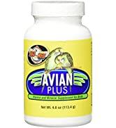 Zoo Med Laboratories Bzma374 Avian Plus Bird Vitamins, 4 oz (976610)