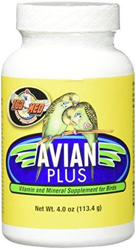 Zoo Med Laboratories Bzma374 Avian Plus Bird Vitamins, 4 oz (Zoo Med Bird)