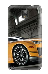 Hot Tpu Shockproof/dirt-proof Lexus Lfa 38 Cover Case For Galaxy(note 3)