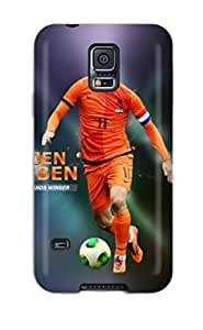For Galaxy S5 Premium Tpu Case Cover Arjen Robben Protective Case