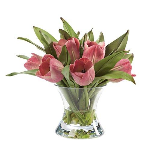Silk Tulip Nosegay Arrangement (Tulip Petals)
