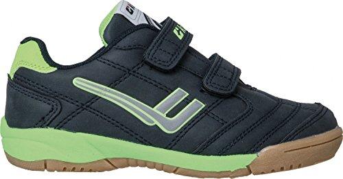 Killtec Jr deporte y el ocio zapato 27687-00814 azul marino oscuro / neón, Gr. 27 - 40, intercambiable blau